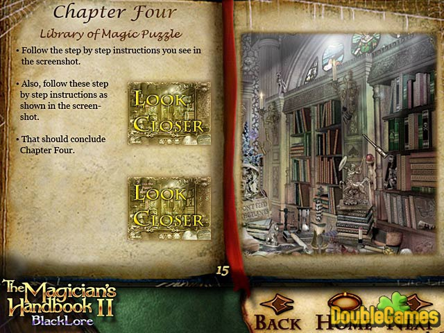 Free Download The Magician's Handbook II: BlackLore Strategy Guide Screenshot 1