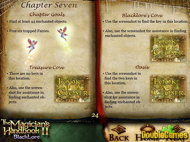 Free Download The Magician's Handbook II: BlackLore Strategy Guide Screenshot 2