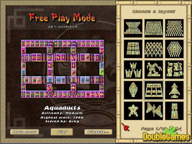 Free Download Mahjong The Endless Journey Screenshot 2