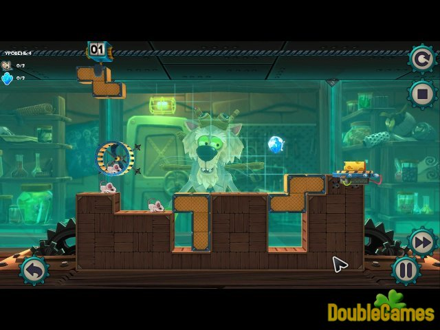 Free Download MouseCraft. Мышиная лаборатория Screenshot 1