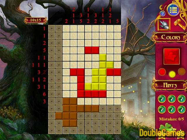 Free Download Mystery Mosaics 2 Screenshot 2