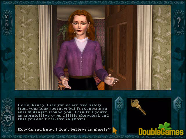 Free Download Nancy Drew: Message in a Haunted Mansion Screenshot 1