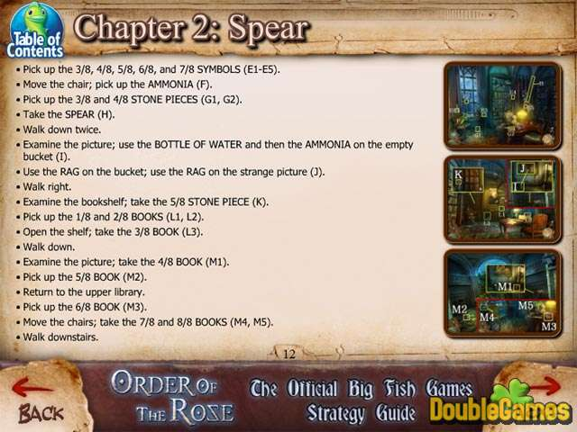 Free Download Order of the Rose Strategy Guide Screenshot 1