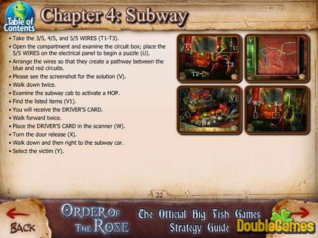 Free Download Order of the Rose Strategy Guide Screenshot 3