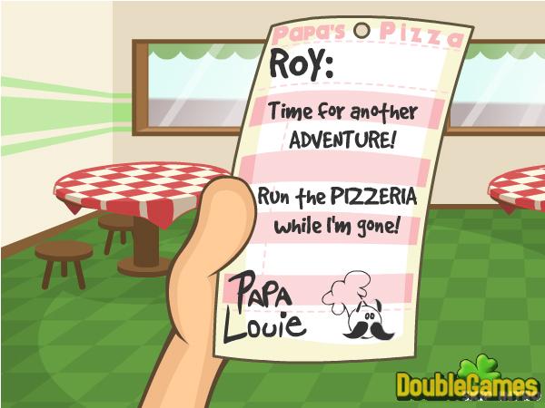 Игра papas pizzeria