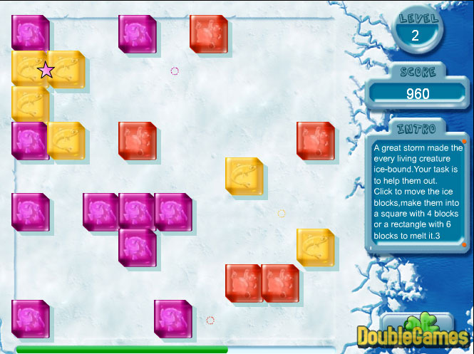 Free Download Penguin Boxes Screenshot 2