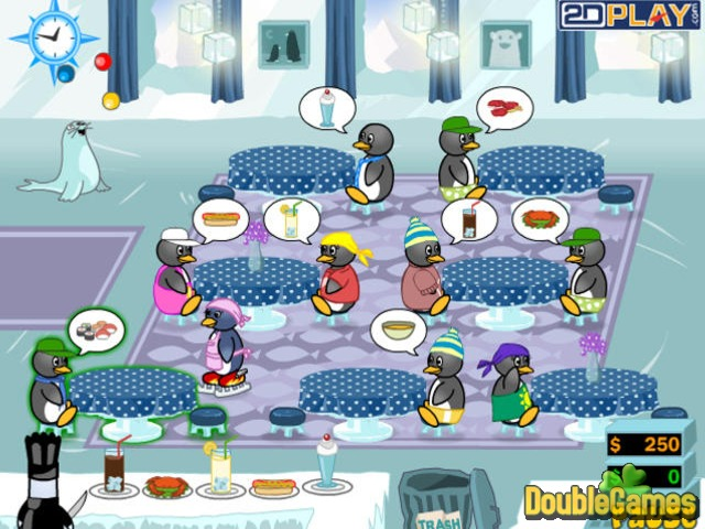 Free Download Penguin Diner 2 Screenshot 1