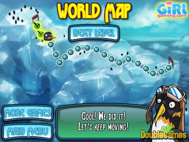 Free Download Penguin Sledding Screenshot 3