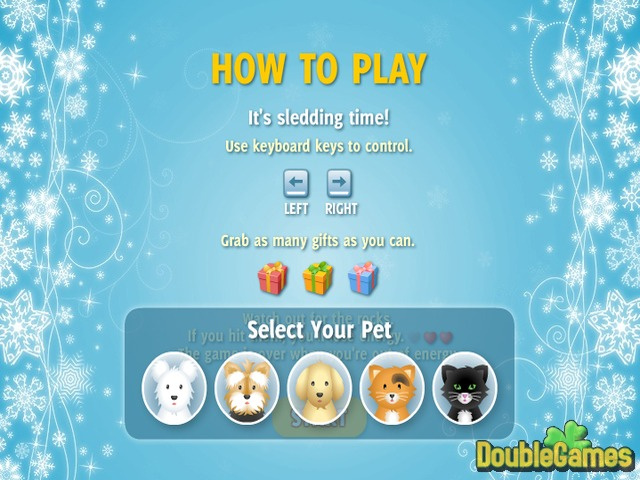 Free Download Pet Sledding Screenshot 1