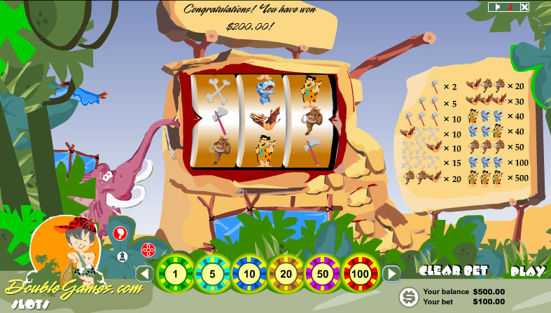 Free Download Prehistoric Slots Screenshot 2
