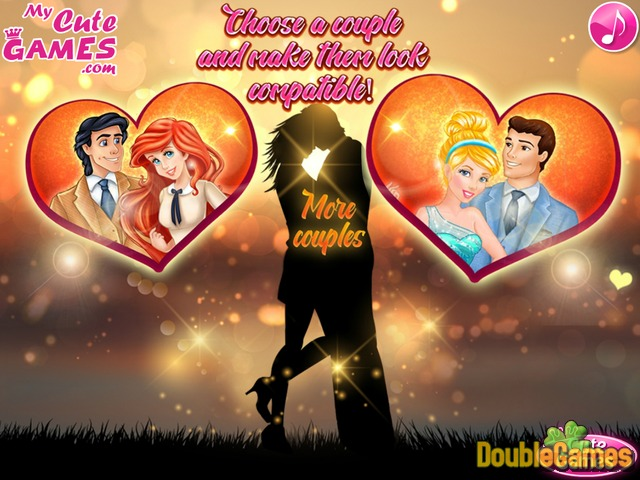 Free Download Princess Couples Compatibility Screenshot 1