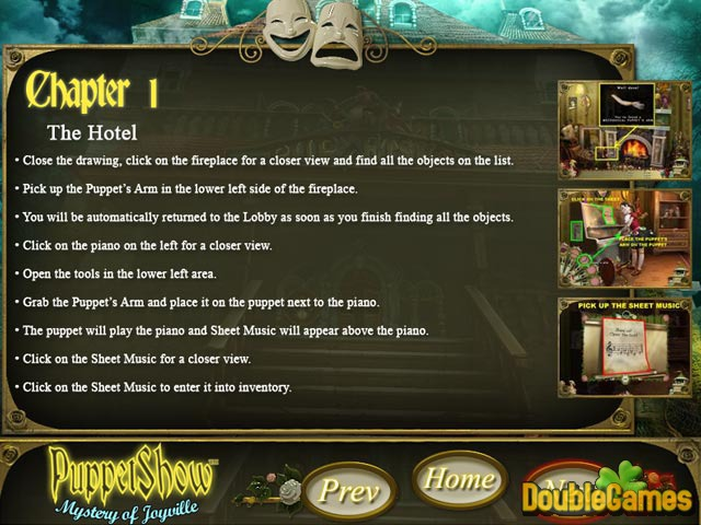 Free Download PuppetShow: Mystery of Joyville Strategy Guide Screenshot 1