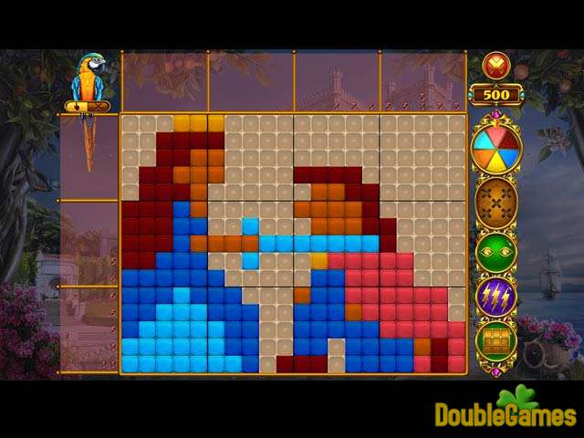 Free Download Rainbow Mosaics: Treasure Trip 2 Screenshot 1