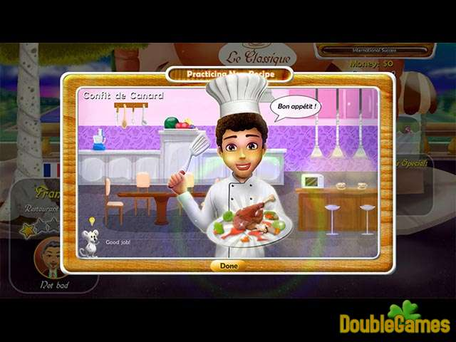 Free Download Rat and Louie: Cook from the Heart Screenshot 2