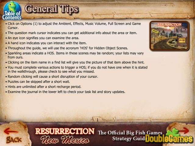 Free Download Resurrection: New Mexico Strategy Guide Screenshot 1
