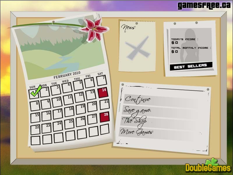 Free Download Rita's Flower Shop Screenshot 2