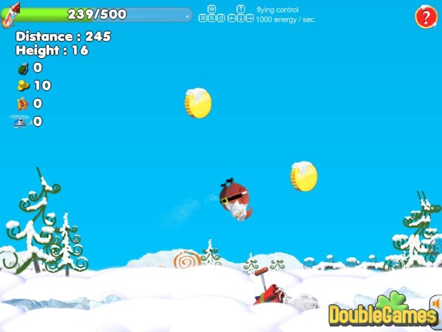 Free Download Santa Can Fly Screenshot 3