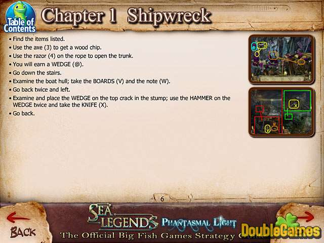 Free Download Sea Legends: Phantasmal Light Strategy Guide Screenshot 2