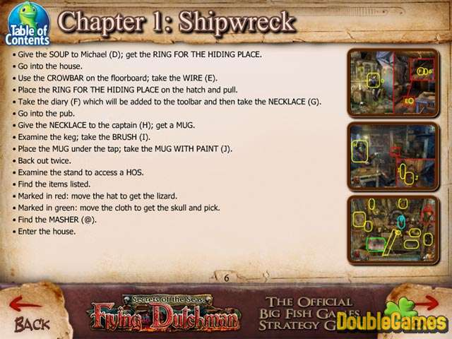 Free Download Secrets of the Seas: Flying Dutchman Strategy Guide Screenshot 1