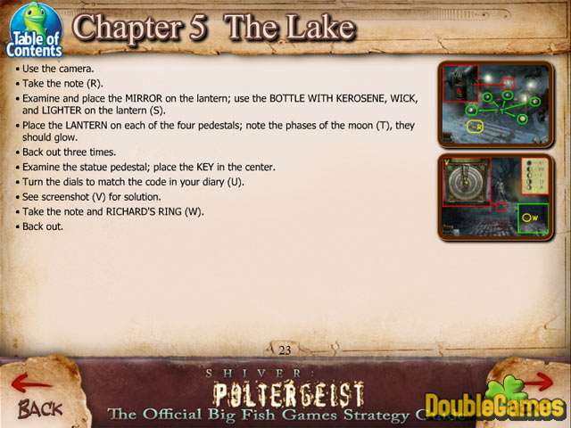 Free Download Shiver: Poltergeist Strategy Guide Screenshot 1