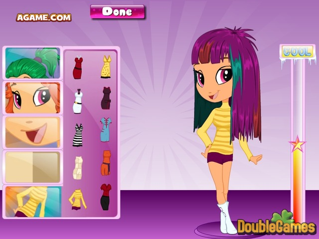 Free Download Sixties Girl Hairstyles Screenshot 1