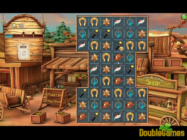 Free Download Solitaire Chronicles: Wild Guns Screenshot 2