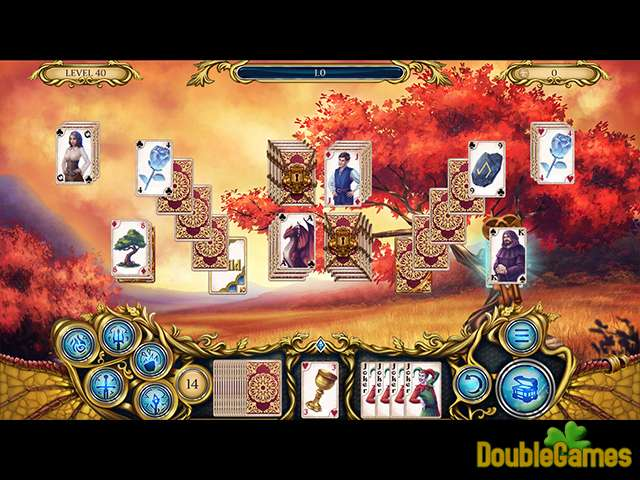 Free Download Solitaire Dragon Light Screenshot 1