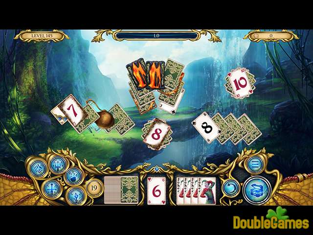 Free Download Solitaire Dragon Light Screenshot 3