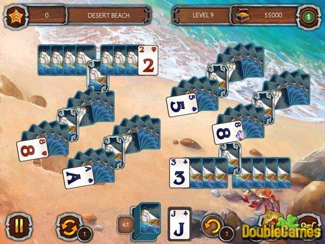 Free Download Solitaire Legend Of The Pirates 2 Screenshot 1