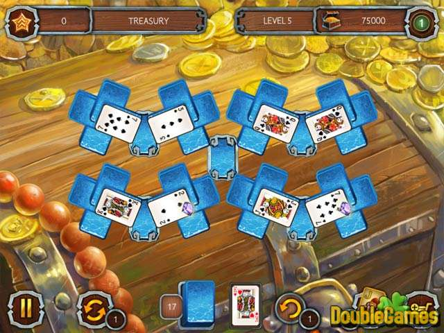 Free Download Solitaire Legend Of The Pirates 2 Screenshot 2