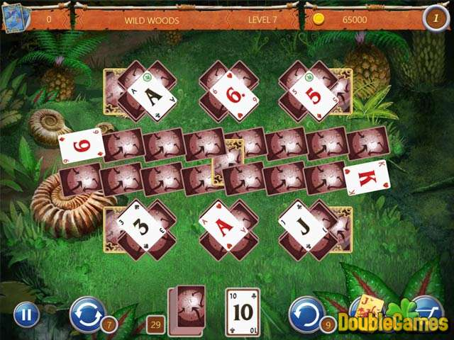 Free Download Solitaire: Ted And P.E.T. Screenshot 1
