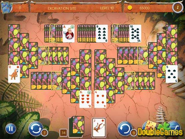 Free Download Solitaire: Ted And P.E.T. Screenshot 3