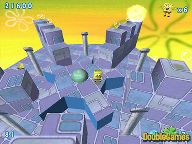 Free Download SpongeBob SquarePants Obstacle Odyssey 2 Screenshot 2