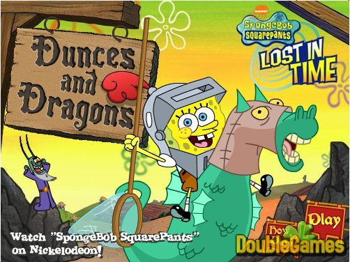 Free Download SpongeBob SquarePants: Lost In Time Screenshot 1