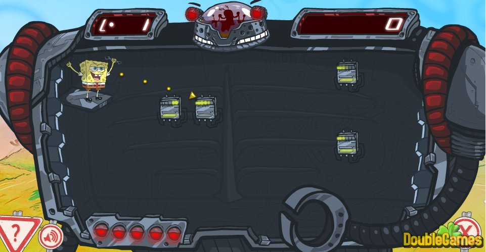 Free Download SpongeBob SquarePants RoboShot Screenshot 2