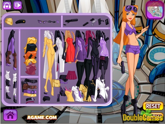 Free Download Spy Girl Dressup Screenshot 1