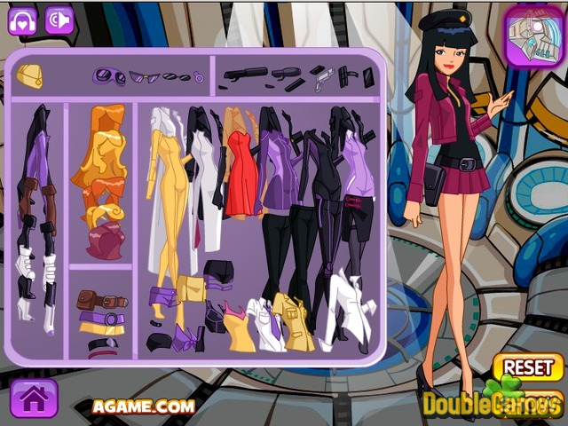 Free Download Spy Girl Dressup Screenshot 2