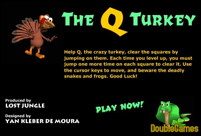 Free Download Thanksgiving Q Turkey Screenshot 1