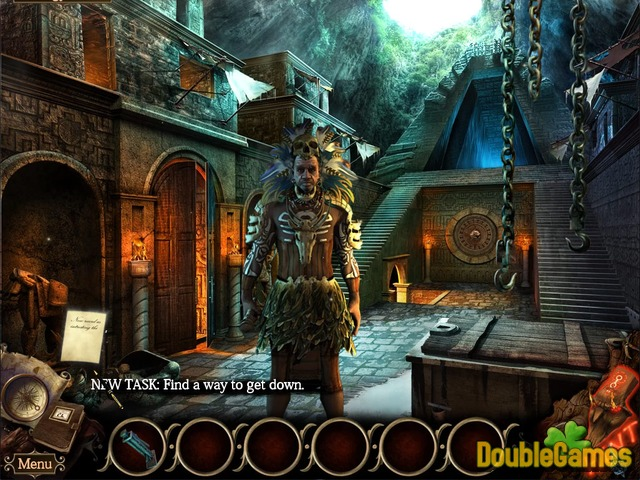 Free Download The Cursed Island: Mask of Baragus. Collector's Edition Screenshot 1