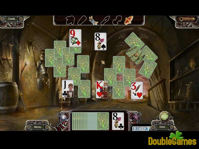 Free Download The Far Kingdoms: Sacred Grove Solitaire Screenshot 1