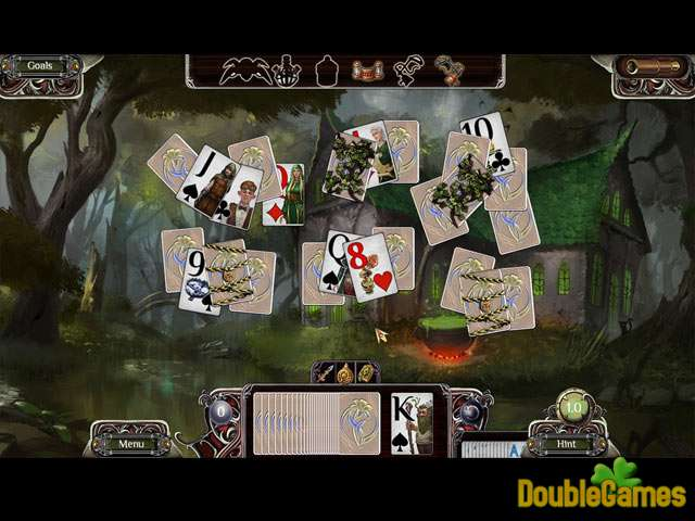 Free Download The Far Kingdoms: Sacred Grove Solitaire Screenshot 3