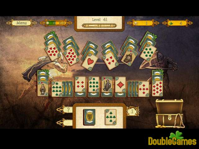 Free Download The Legend Of King Arthur Solitaire Screenshot 1