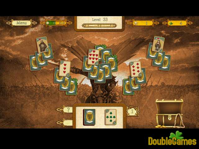 Free Download The Legend Of King Arthur Solitaire Screenshot 2