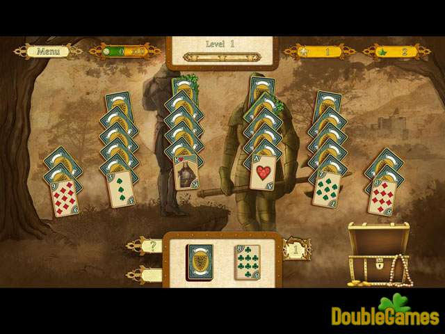 Free Download The Legend Of King Arthur Solitaire Screenshot 3