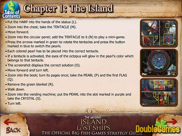 Скачать бесплатно The Missing: Island of Lost Ships Strategy Guide скриншот 1