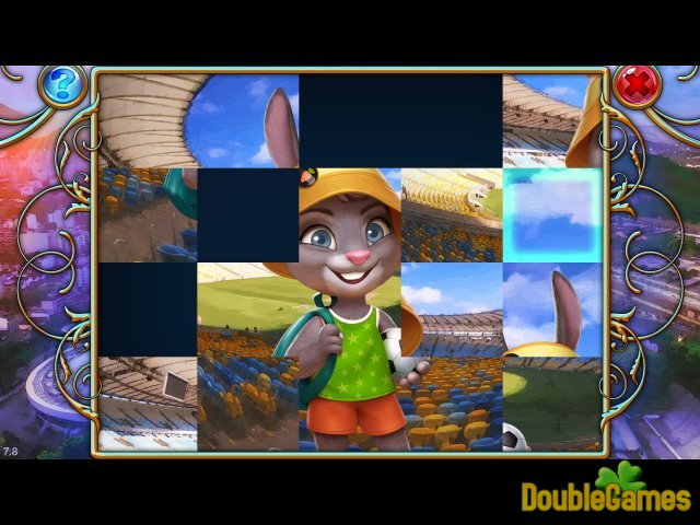 Free Download Travel Mosaics 4: Adventures In Rio Screenshot 3