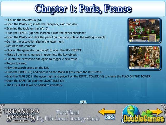 Free Download Treasure Seekers: The Time Has Come Strategy Guide Screenshot 1