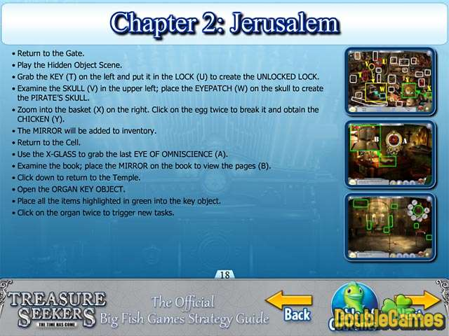 Free Download Treasure Seekers: The Time Has Come Strategy Guide Screenshot 3