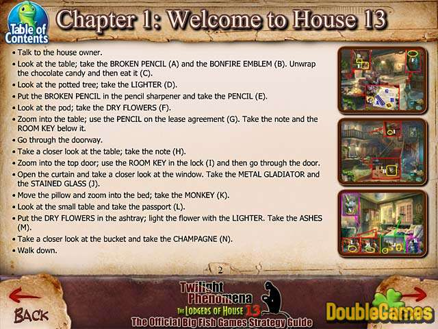 Free Download Twilight Phenomena: The Lodgers of House 13 Strategy Guide Screenshot 1
