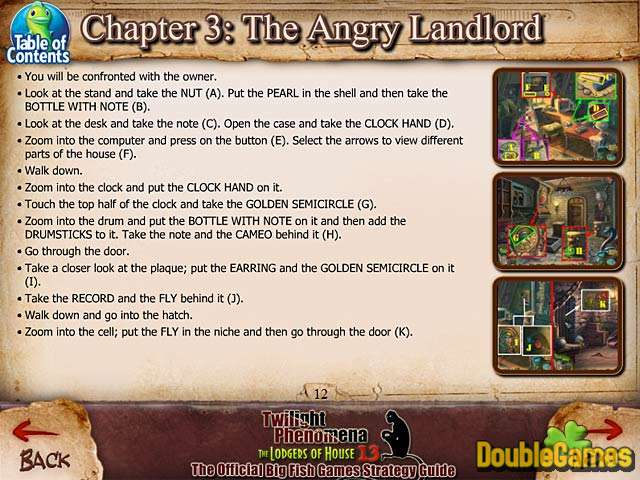 Free Download Twilight Phenomena: The Lodgers of House 13 Strategy Guide Screenshot 3